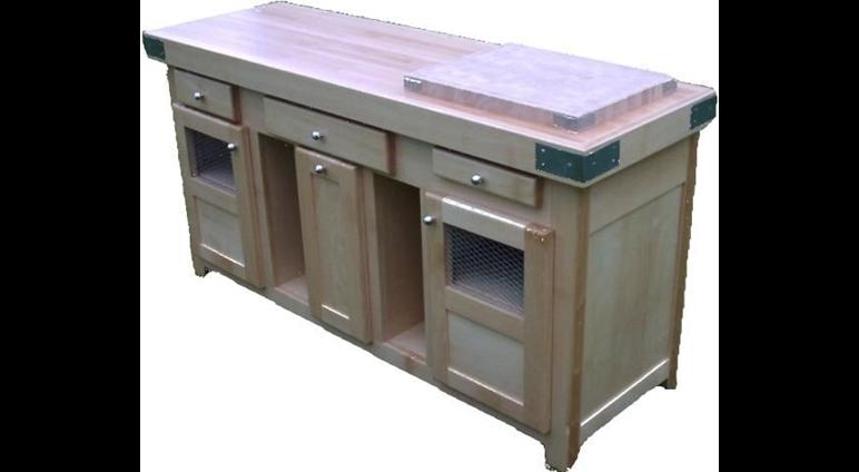 Meuble cuisine exterieur meuble cuisine noir laqu for Meuble pour cuisine exterieur